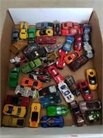 Box of hot wheels