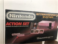 Vintage Nintendo action set