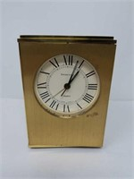 Tiffany & Co desk clock 3 1/2 by 5 inches
