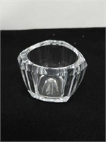 Tiffany & Co Crystal dish 3 & 1/2 by 3 in