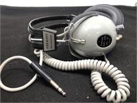 Vintage calrad stereo headphones