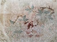 "Hand made prayer rug / 18""×19"""