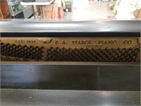 Starck piano and bench