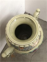 Asian porcelain urn