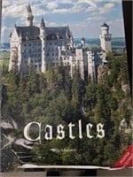 """Large book / CASTLES by Felix Madison / 17""""×23"""""""