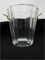 Baccarat crystal ice bucket 9 x 10