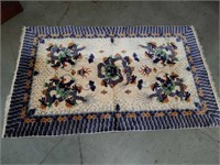 Handmade dragon pattern rug 3ft by 5ft