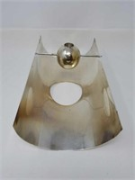 Modern candle holder by sabattini made in Italy