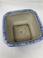 Asian flower pot