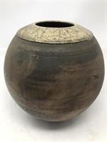 Signed Ceramic vase