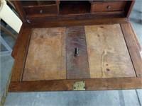 Antique 2pc.drop front desk