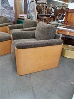 4 piece designer exotic wood occasional chair s