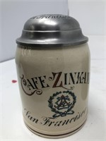 Group of three German mugs