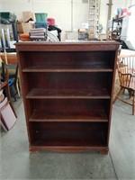 """Mahogany bookcase / 35""""×48"""""""