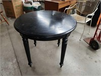 Antique painted Tea table by LANE