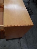 Exotic wood credenza by Anthony Kahn 66 by 18 a