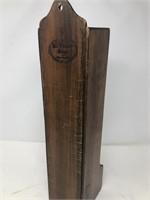 Antique wooden spice rack