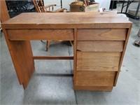 "Oak small desk / 37""×29"""