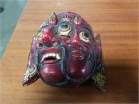 Wood wall mask