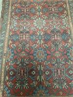 "Hand made rug 39""70"""