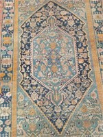 "Hand made rug 40""×58"""