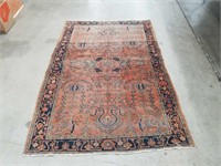 "Hand made rug 50""×75"""