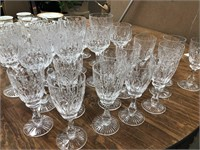 Approx 32 pieces of glassware marked Stuart