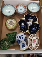 Box of porcelain pcs