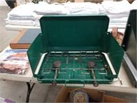 Pr of propane camping stoves/ coleman,