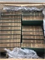 Box of Harvard classic books