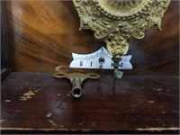 """Antique wall clock made in England 11""""×31"""",7"""""""