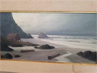 Antique oil painting signed  / James Blacketer