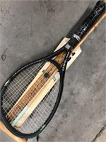 Bundle with tennis racket, ruler, paddle etc