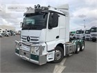 2019 Mercedes Benz Actros 2653LS Cab Chassis