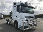 2019 Mercedes Benz Actros 2658LS Cab Chassis