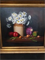 Listed artist painting Dorothy Fitzgerald