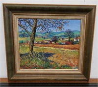Listed artist Betty wittwe painting
