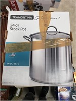 24 qt. Stock Pot in original box. May be lightly