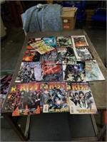 KISS Metal Band magazines & Comic Books