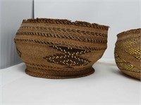 Box of Woven baskets