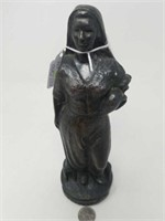 """Industrial woman penny bank/ 3""""×10"""""""