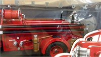 1;16 Ertl Intn'l '47 KB5 #98 Fire Truck in box