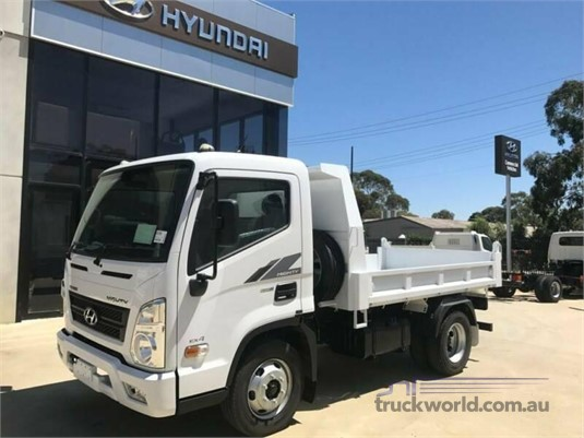 2020 Hyundai Mighty EX4 SWB Factory Tipper Adelaide Quality Trucks & AD Hyundai Commercial Vehicles - Trucks for Sale