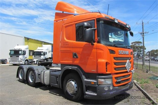 2011 Scania G480 - Trucks for Sale
