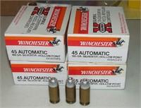4-20 Round Boxes  Winchester 45 Auto
