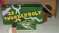 10-50 Round Boxes Of Rem Thunderbolt  22 Lr