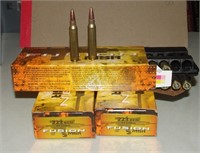3-20 Round Boxes Of Fusion .223 Remington