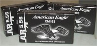 2-40 Round Boxes Of American Eagle  Ar 5.56