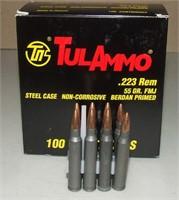 100 Round Box Of Tul  .223