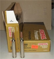 2-20 Round Boxes Federal 300 Mag